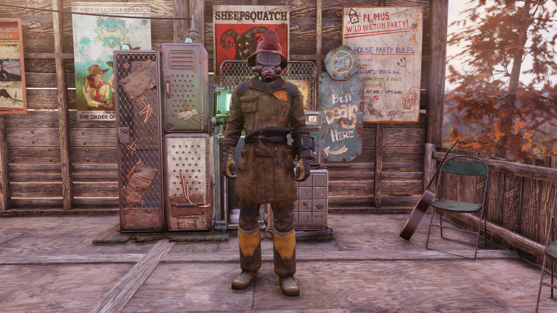 Pre-war Firefighter Outfit Mod - Fallout 76 Mods   GameWatcher