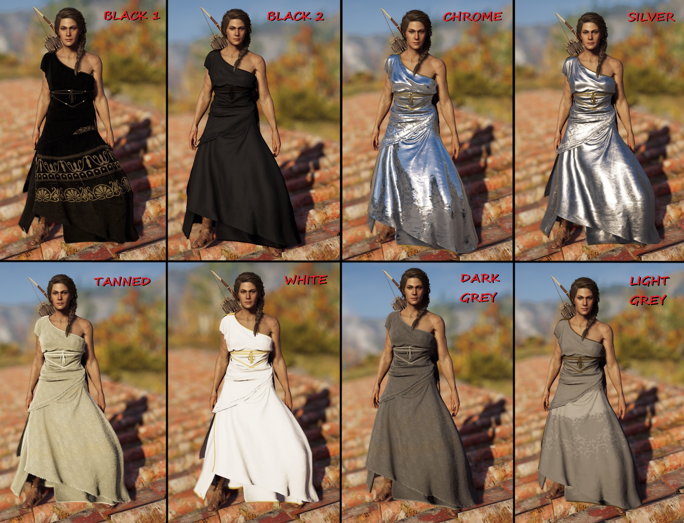 Different Colour Party Dress For Kassandra Mod Gamewatcher