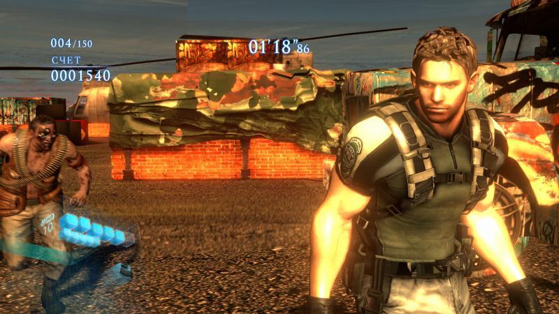 Play as Resident Evil 5 Chris Redfield Mod - Resident Evil 6