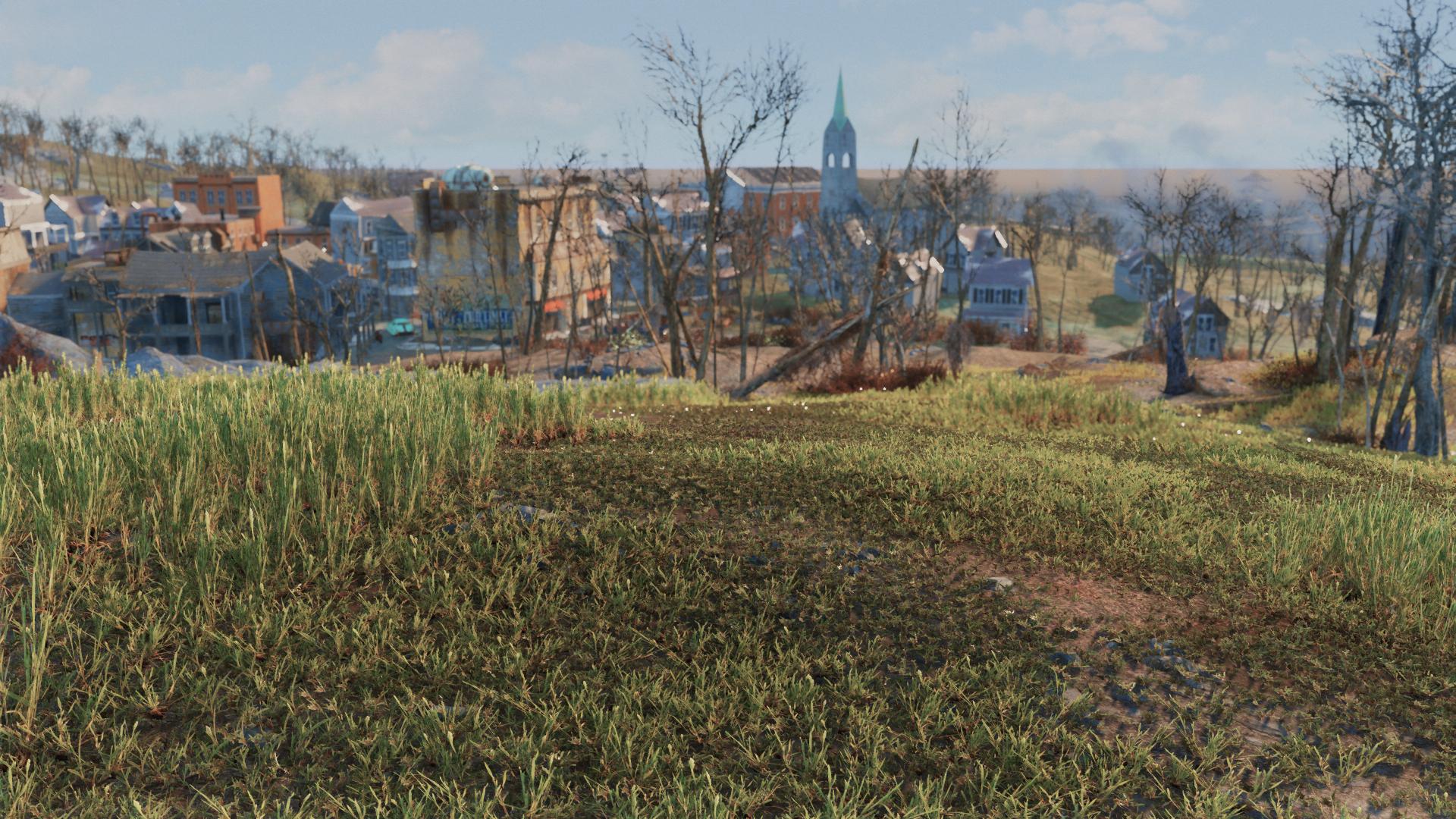 Wild Grass Mod - Fallout 4 Mods | GameWatcher