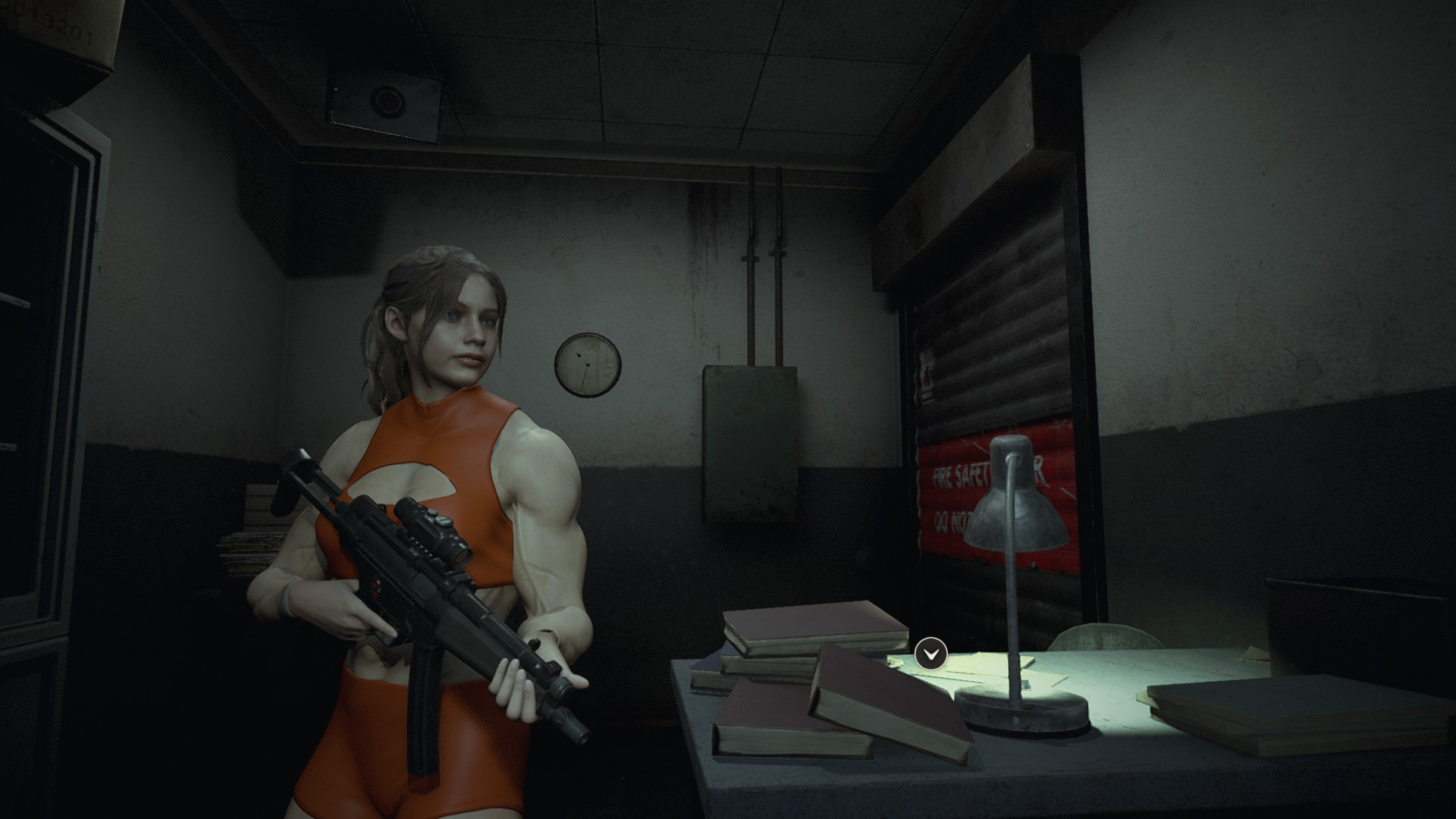 Pumping Iron Mod - Resident Evil 2 Remake Mods | GameWatcher