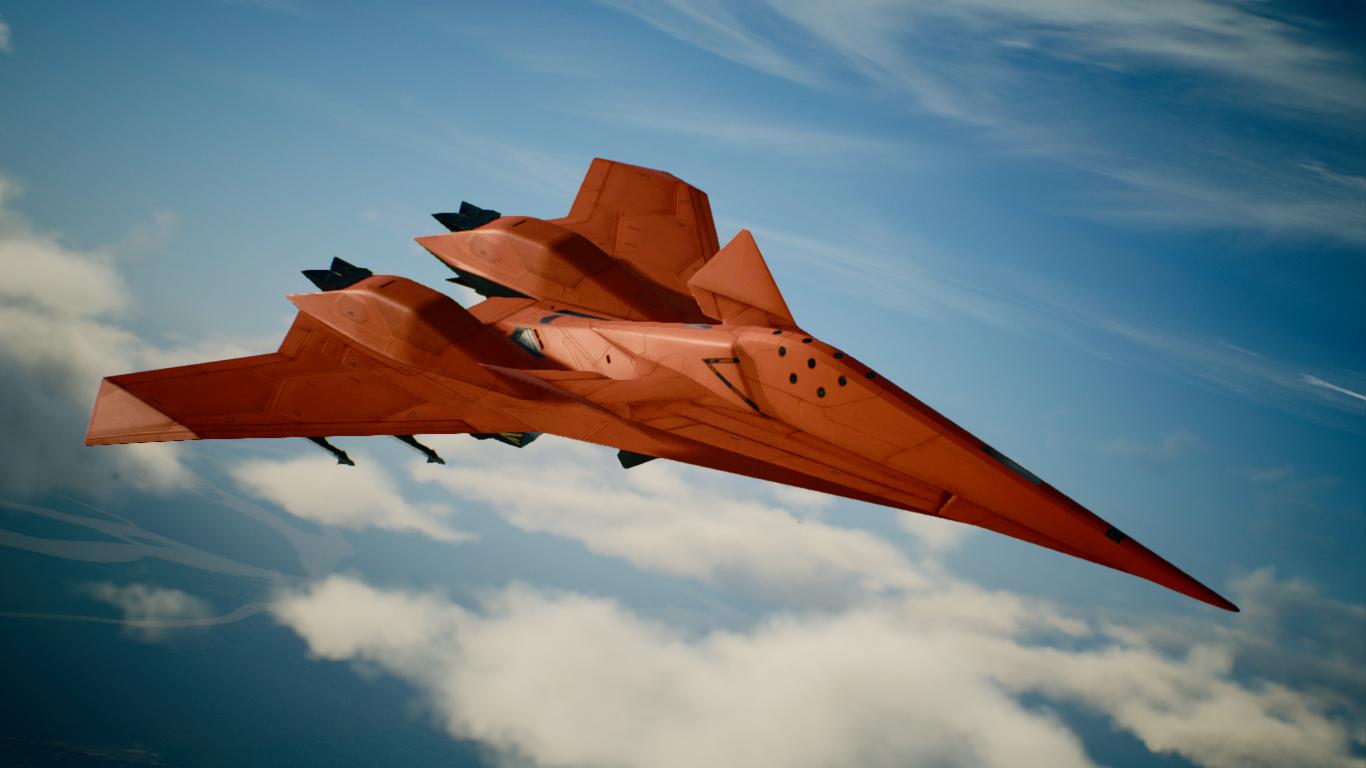 ADF-11F Z O E -Odin- Mod - Ace Combat 7: Skies Unknown Mods