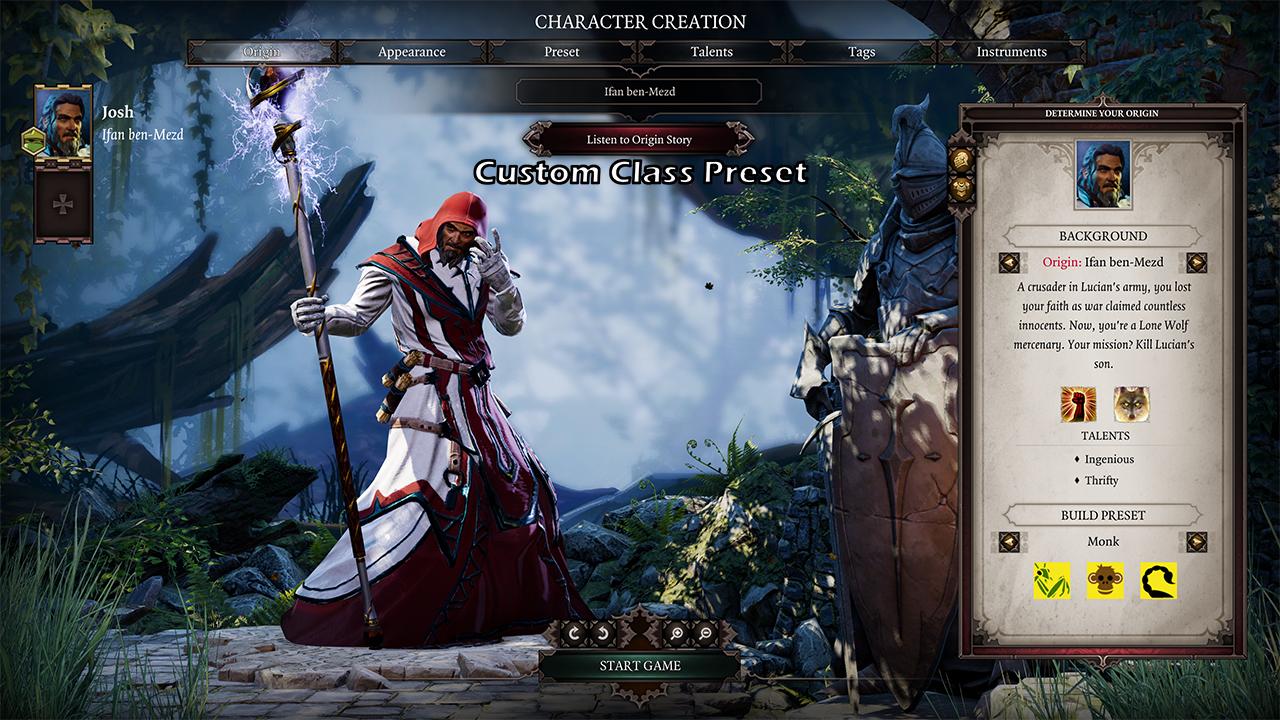Monk Class Mod - Divinity: Original Sin 2 Mods | GameWatcher