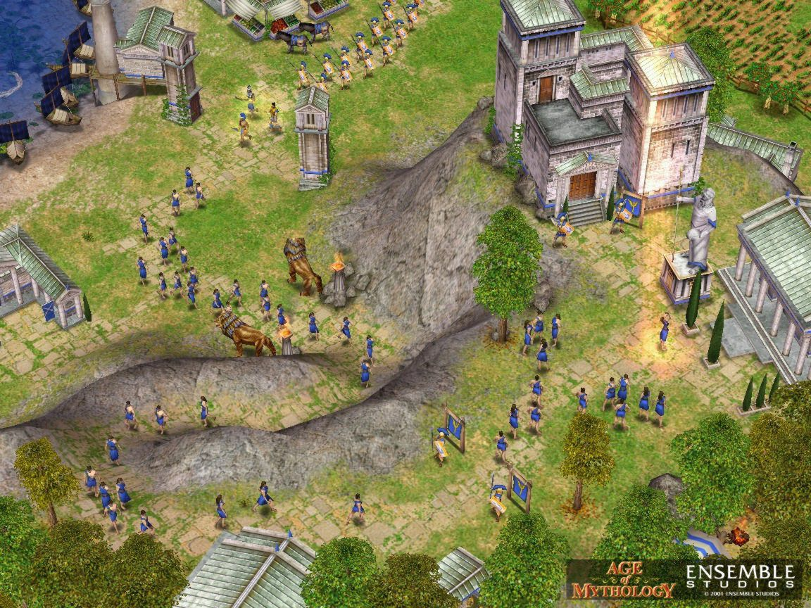 how to download age of mythology