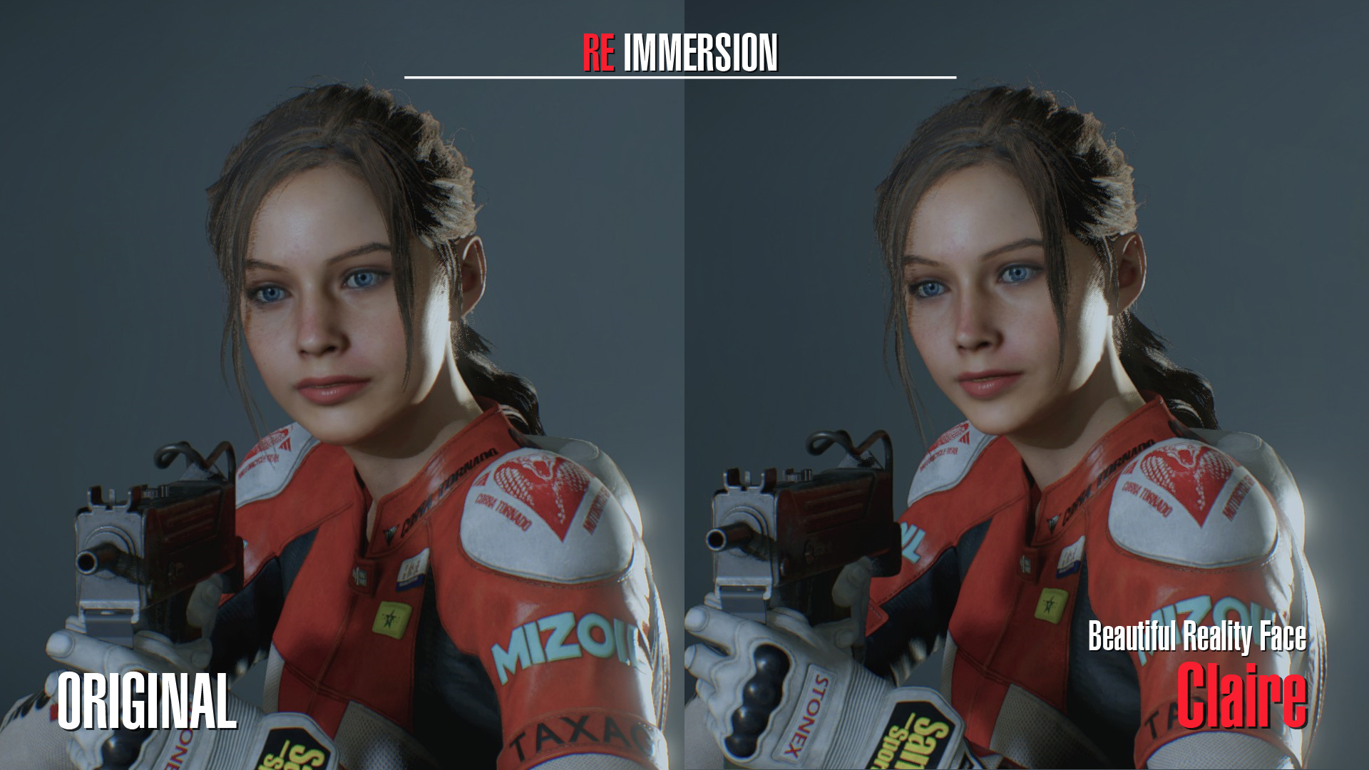 Beautiful Reality Face - Claire v2 0 - Resident Evil 2