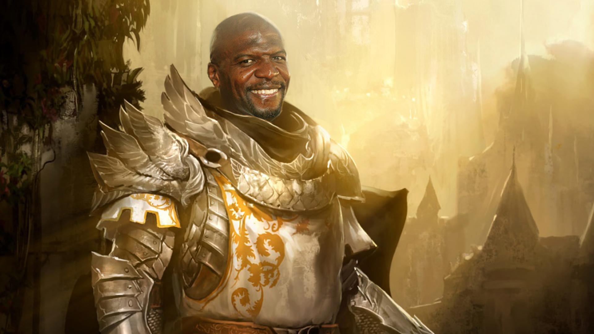 Terry Crews Portrait - Pathfinder: Kingmaker Mods | GameWatcher