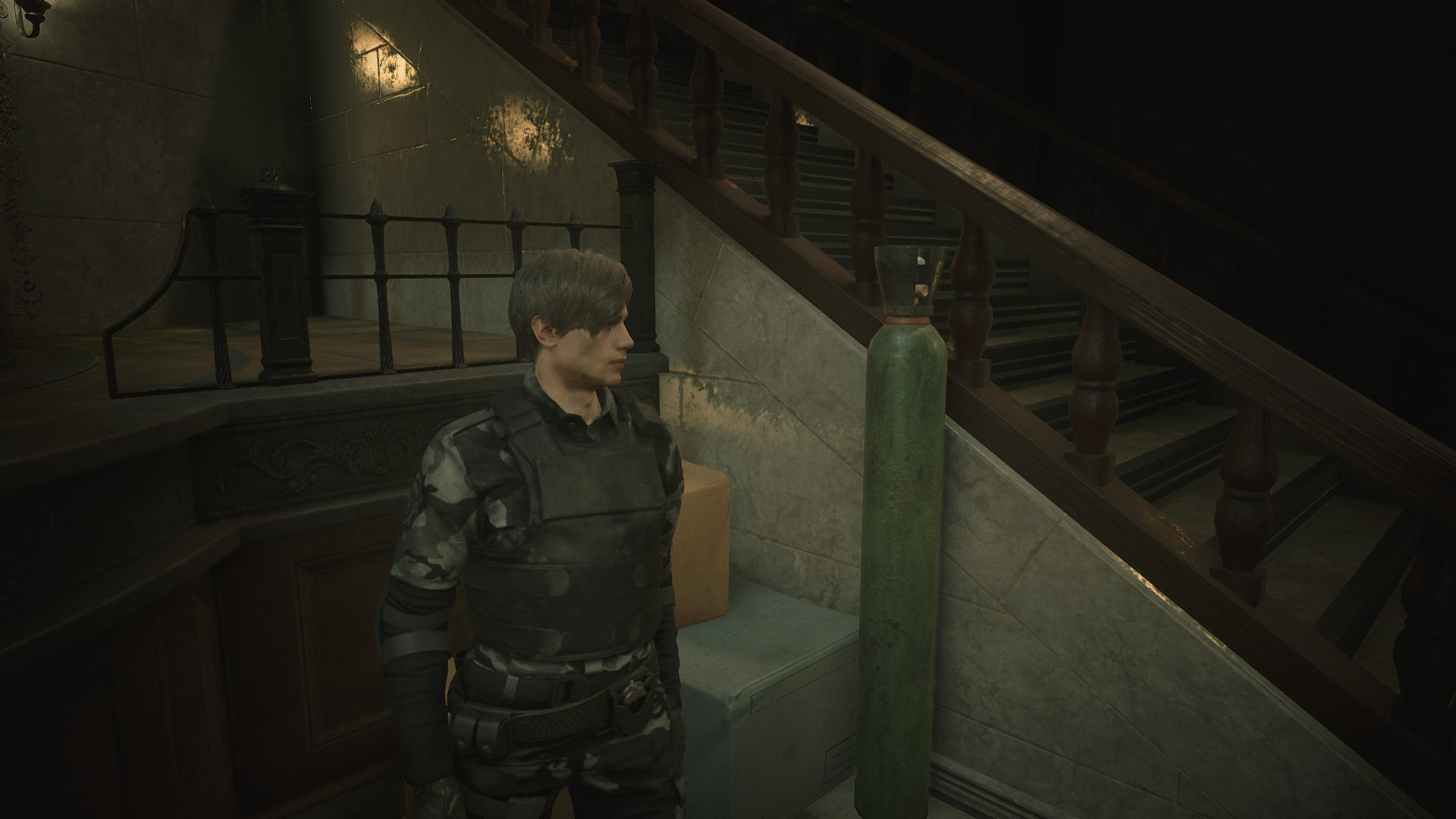 Leon Rpd Camo Pack Mod Resident Evil 2 Remake Mods Gamewatcher