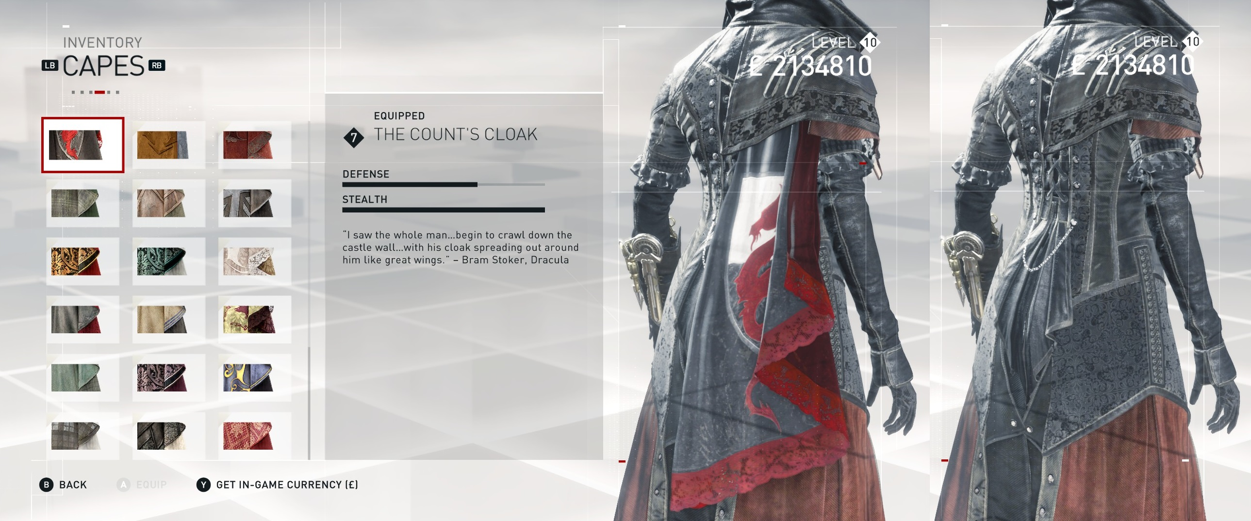 Hidden Cape For Evie Frye Mod Assassin S Creed Gamewatcher