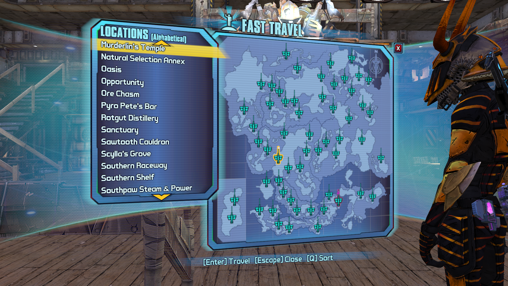 Fast Travel From Anywhere Mod - Borderlands 2 Mods | GameWatcher