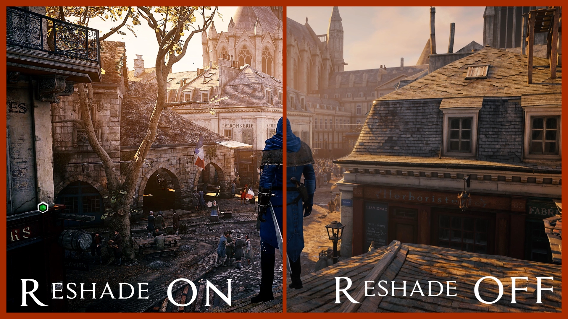 Apex Reshade Mod - Assassin's Creed: Unity Mods | GameWatcher