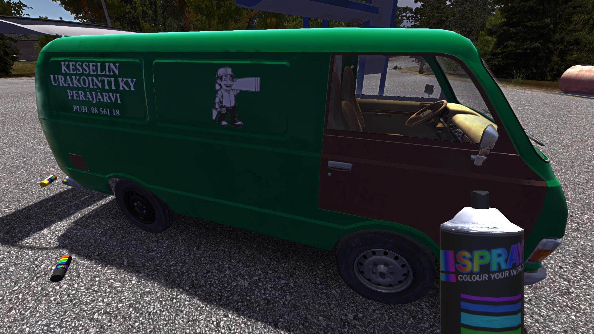 Paintable Hayosiko Mod My Summer Car Mods Gamewatcher
