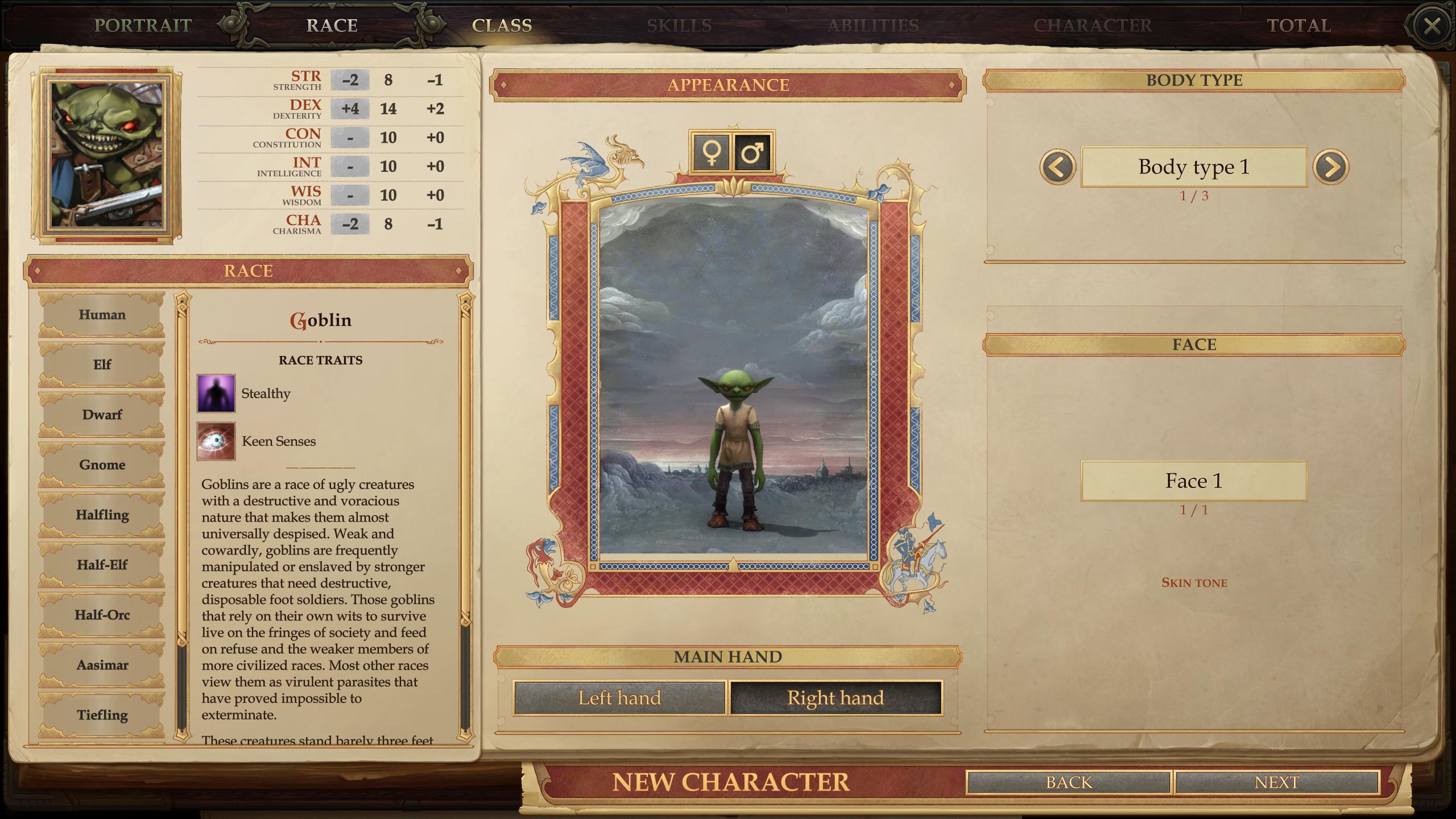 Goblin Race Mod - Pathfinder: Kingmaker Mods | GameWatcher