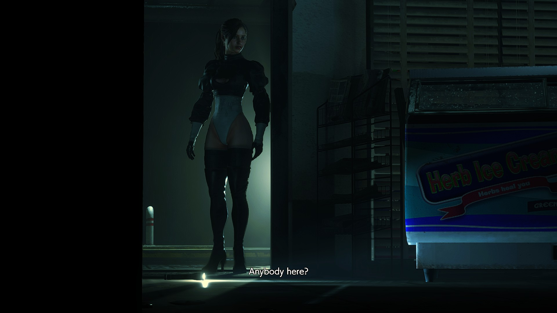 Replace Claire Redfield with 2B Mod - Resident Evil 2 Remake