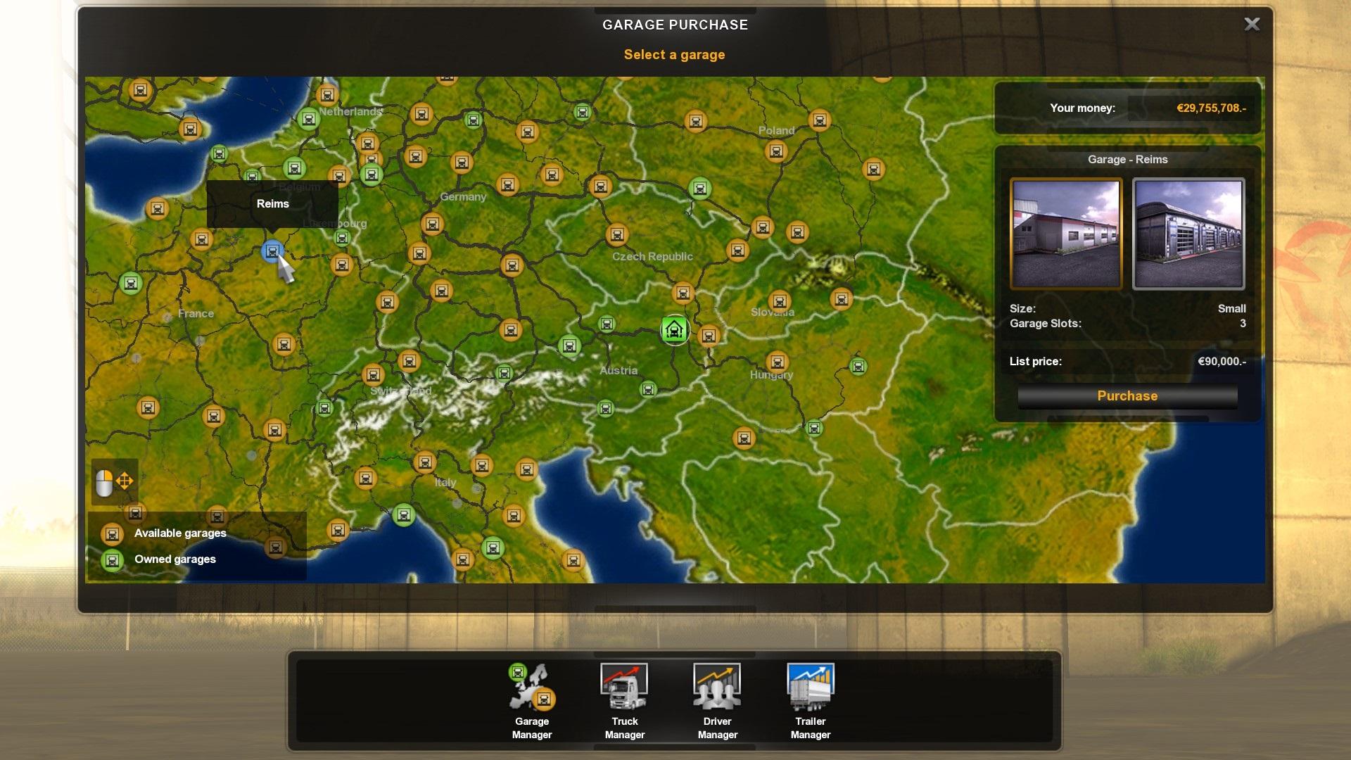 Cheaper Garages Mod Euro Truck Simulator 2 Mods Gamewatcher