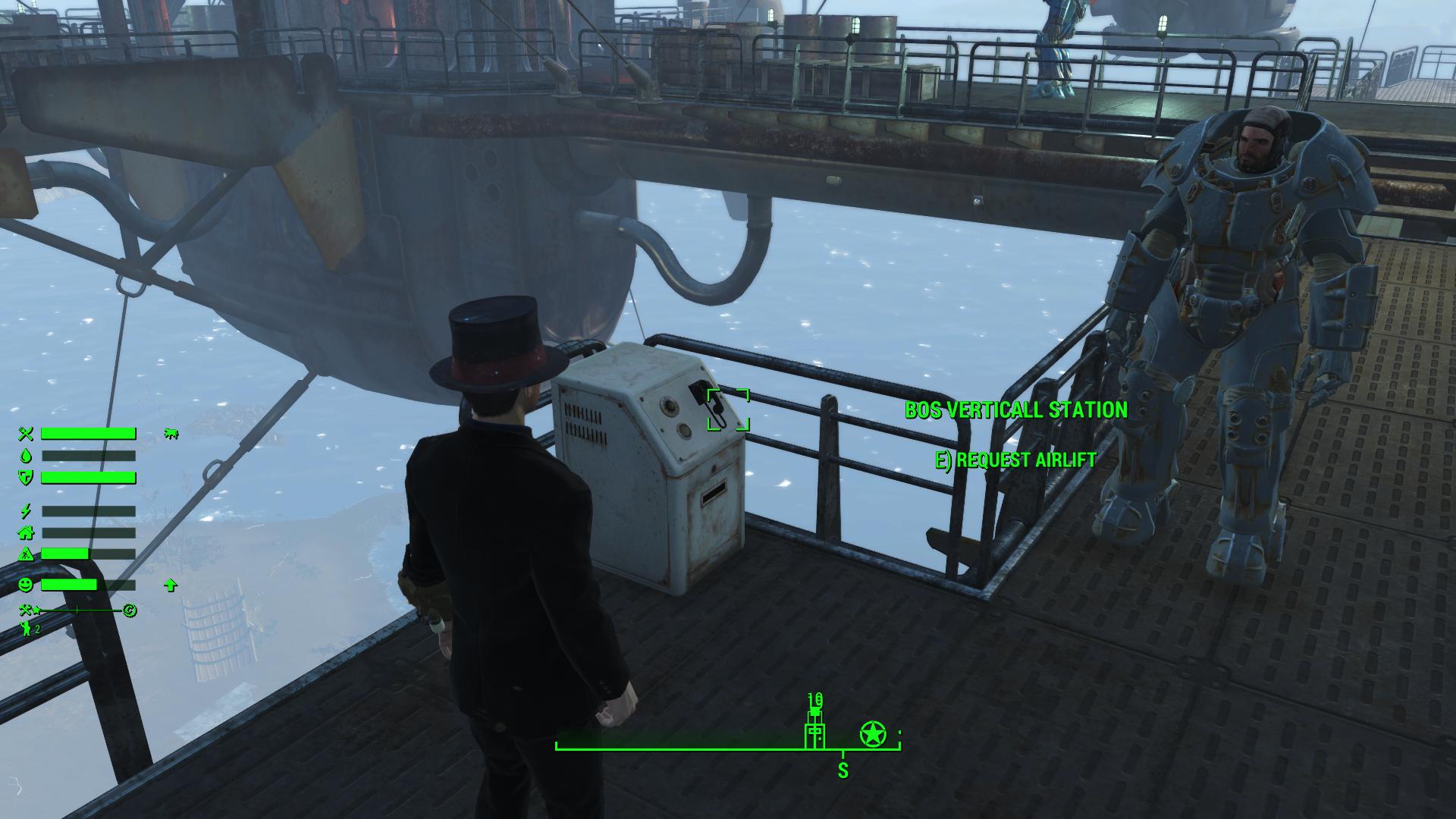 VertiCall - Prydwen Flight Deck Mod - Fallout 4 Mods