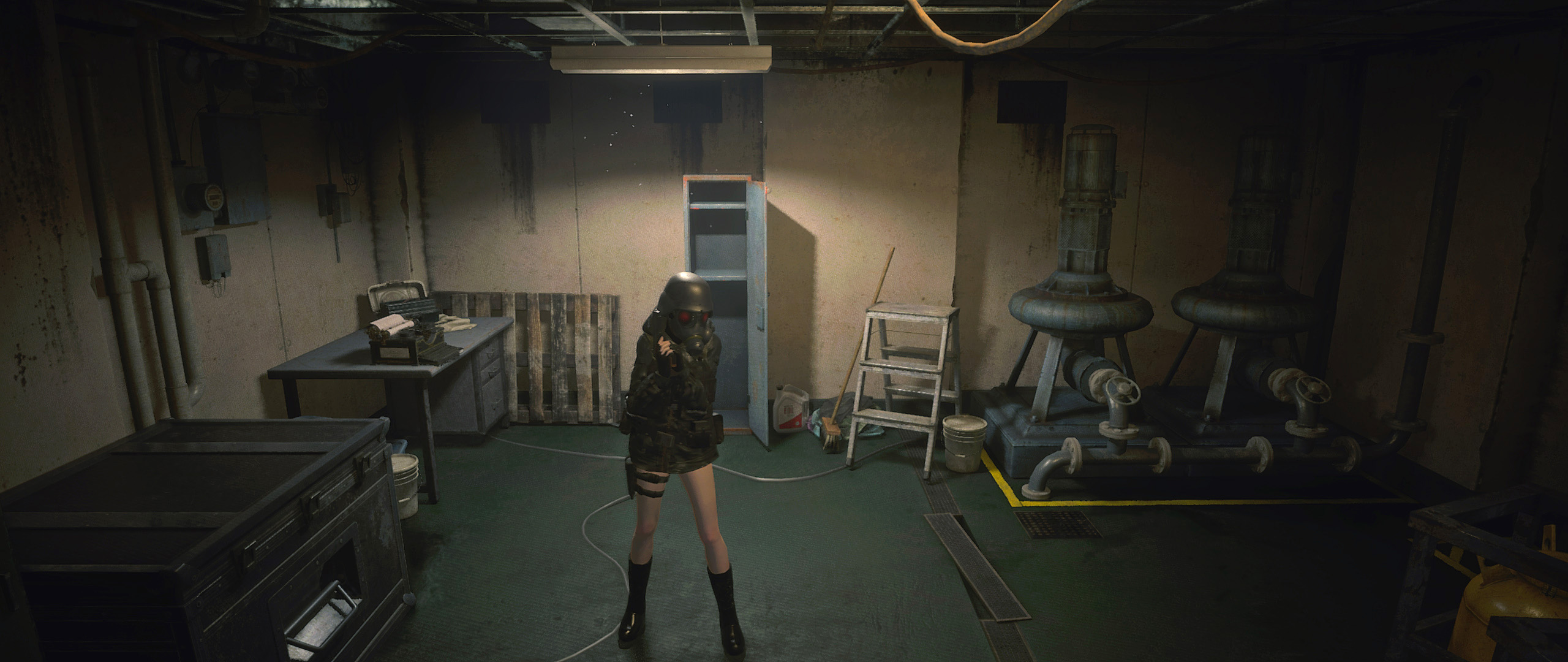 Lady Hunk For Claire Jacket Mod - Resident Evil 2 Remake