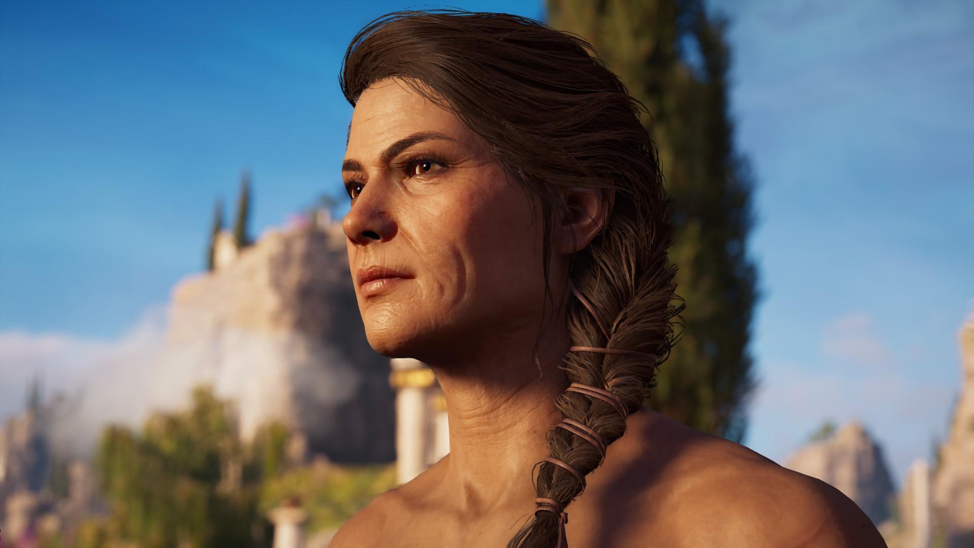 Assassins Creed Odysseys เดิมทีจะมีแค่ตัวละคร Kassandra
